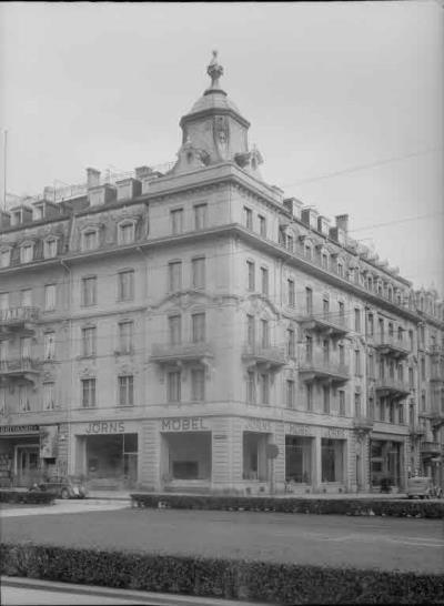 Fn Jost N 4031 Jörns Haus Möbelgeschäft Bubenbergplatz